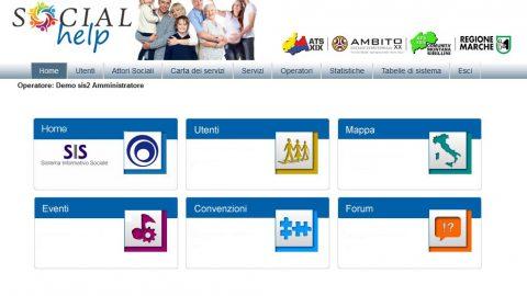 Regione Marche – Progetto Social help