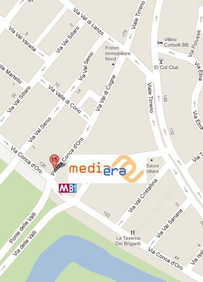 Mediaera Mappa Dove Siamo